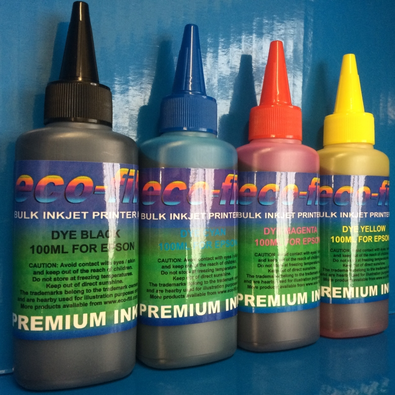 Eco-Fill Bulk Refill Ink for Brother, Canon, Epson, HP